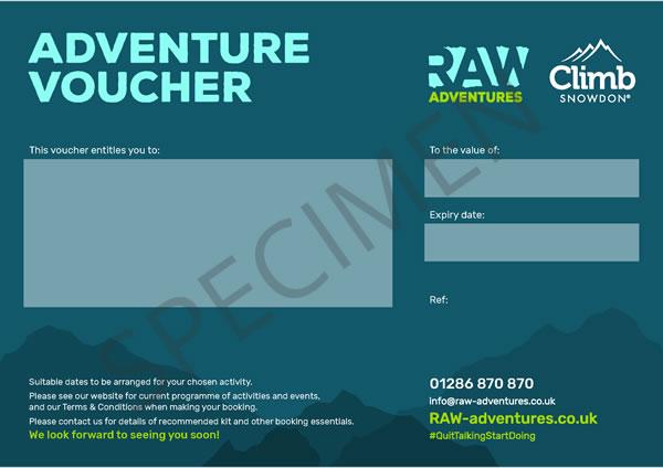 Climb Snowdon - Climb Snowdon Gift Voucher