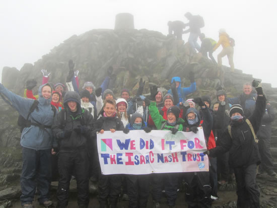 Climb Snowdon - Isaac Nash Trust