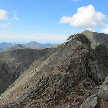 Climb Snowdon - Summit Routes - Crib Goch