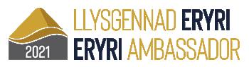 Climb Snowdon - Eryri Ambassador Gold logo