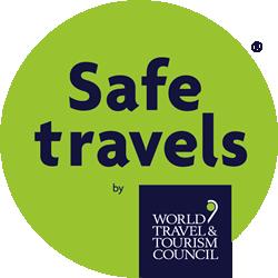 Climb Snowdon - WTTC Safe Travels logo