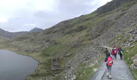 Climb Snowdon - Summit Routes - Miners' Track