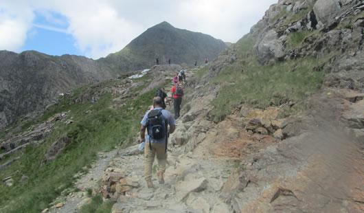 Climb Snowdon - Summit Routes - Pyg Track