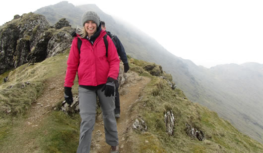 Climb Snowdon - Summit Routes - Rhyd Ddu Path