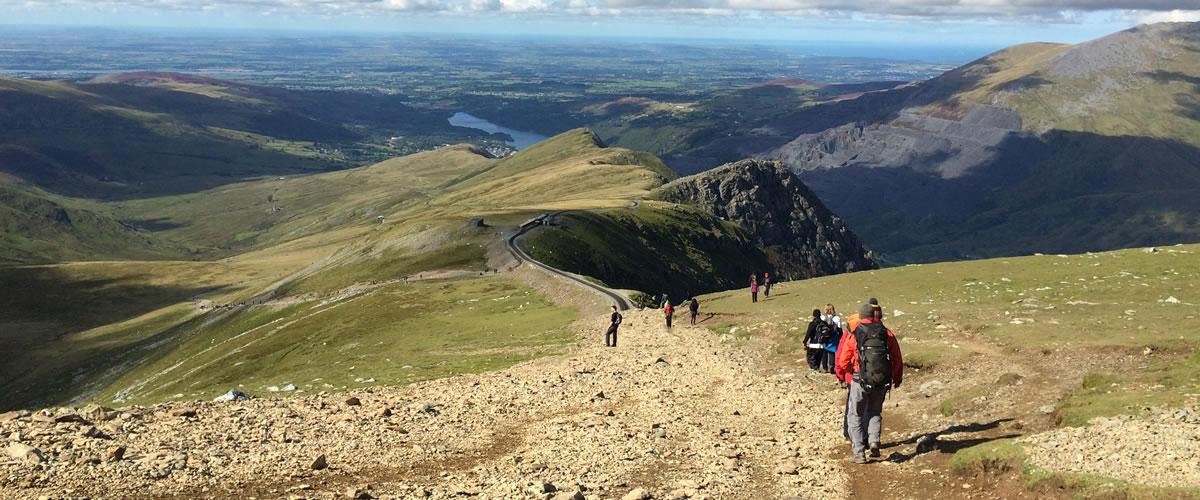 How Long To Climb Snowdon >> Climb Snowdon About Yr Wyddfa Summit Routes Llanberis Path