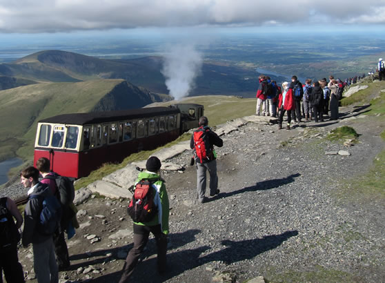 Climb Snowdon - Miners' Track