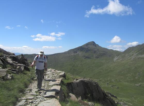 Climb Snowdon - Watkin Path