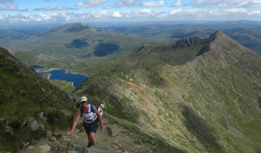 Climb Snowdon - Summit Routes - Watkin Path