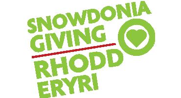 Climb Snowdon - Snowdonia Giving / Rhodd Eryri logo